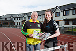 An Riocht launch of Kingdom Come 10 miler and 5k run on Sunday 17th April at 11am sharp. Pictured James O'Leary and Maggie O'Sullivan