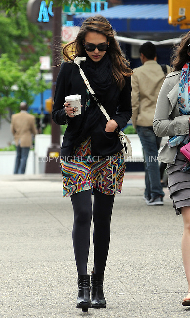 WWW.ACEPIXS.COM ....May 7 2012, New York City....Actress Jessica Alba takes a stroll around Soho and grabs cash from an ATM on May 7 2012 in New York City....Please byline: CURTIS MEANS - ACE PICTURES....Ace Pictures, Inc:  ..tel: (646) 769 0430..e-mail: info@acepixs.com..web: http://www.acepixs.com