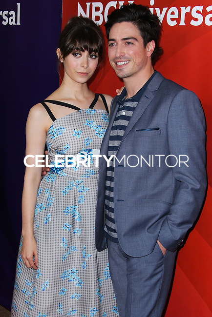 BEVERLY HILLS, CA, USA - JULY 13: Cristin Milioti, Ben Feldman at the NBCUniversal Summer TCA Tour 2014 - Day 1 held at the Beverly Hilton Hotel on July 13, 2014 in Beverly Hills, California, United States. (Photo by Xavier Collin/Celebrity Monitor)