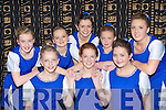 The Renard Rince Foirne dancers at the Sco?r na nO?g finals in the Gleneagle Hotel Killarney on Sunday front row l-r: Sarah Jane O'Shea, Niamh Casey, Rebecca Galvin. Back row: Ciara Sugrue, Casey O'Donoghue, Brigid Dennehy, Emer O'Donovan and Orla O'Donovan