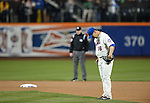 Daisuke Matsuzaka (Mets),<br /> APRIL 26, 2014 - MLB :<br /> Daisuke Matsuzaka of the New York Mets prays before taking the mound during the Major League Baseball game against the Miami Marlins at Citi Field in Flushing, New York, United States. (Photo by AFLO)