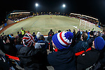 Rangers fans at Forthbank Stadium, Stirling