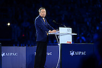 Washington, DC - March 21, 2016: Ohio Governor John Kasich speaks before attendees of the AIPAC Policy Conference at the Verizon Center in the District of Columbia, March 21, 2016. AIPAC is engaged in promoting and protecting the U.S.-Israel relationship to enhance security for both countries. (Photo by Don Baxter/Media Images International)