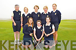 GOLF: The Killarney ladies golf team who played Ballybunion Ladies in the Junior Cup at Tralee Golf Club, on Sunday. Front l-r: Amy Arthur, Mairead Martin and Eimear O'Donnell. Back l-r: Mary Greaney, Christine Carroll, (lady capt) Urusla Daly, Maura Fitzgerald (asst manager) and Anne Moynihan.