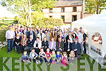 The O'Dowd family who gathering in Ardabane, Keel as part of the centenary celebrations of the ancestral home on Saturday. ................................................