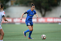 Seattle, WA - Friday June 23, 2017: Carson Pickett during a regular season National Women's Soccer League  (NWSL) match between the Seattle Reign FC and FC Kansas City at Memorial Stadium.