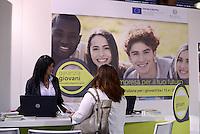 Roma, 27 Maggio 2015<br /> Forum Pa 2015<br /> Il padiglione di Garanzia Giovani<br /> 26° mostra convegno dell'innovazione nella Pubblica amministrazione e nei sistemi territoriali.