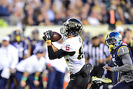 PHILADELPHIA, PA. - DEC 12 2015: Army Black Knights wide receiver Edgar Poe (82) hauls in his second touchdown of the day during the Army Navy game at Lincoln Financial Field Philadelphia, PA. (Photo by Phil Peters/Media Images International)