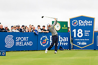Bernd Wiesberger (AUT) on the 18th tee during the 3rd round of the Dubai Duty Free Irish Open, Lahinch Golf Club, Lahinch, Co. Clare, Ireland. 06/07/2019<br /> Picture: Golffile | Thos Caffrey<br /> <br /> <br /> All photo usage must carry mandatory copyright credit (© Golffile | Thos Caffrey)