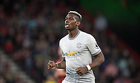 Paul Pogba of Man Utd during the Premier League match between Bournemouth and Manchester United at the Goldsands Stadium, Bournemouth, England on 18 April 2018. Photo by Andy Rowland.