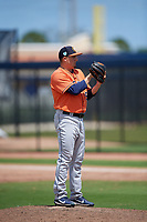 Houston Astros pitcher Chad Donato (93) during a Minor League Spring Training Intrasquad game on March 28, 2019 at the FITTEAM Ballpark of the Palm Beaches in West Palm Beach, Florida.  (Mike Janes/Four Seam Images)