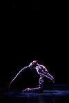 PANORAMA....Mise en scène et chorégraphie Philippe Decouflé..Costumes Philippe Guillotel..Coordination chorégraphie, costumes et décor Éric Martin..Eclairage et régie générale Begoña Garcia-Navas..Film Dominique Willoughby..Interprètes : ..Julien Ferranti, Rémy-Charles Marchant, Ioannis Michos, Matthieu Penchinat, Lisa Robert, Marie Rual, Violette Wanty..Lieu : Grande Halle de la Villette..Ville : Paris..Le 05/06/2012..© Laurent Paillier / photosdedanse.com