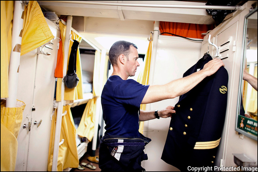 Février 2009/ Océan Indien/ Poste officier marinier.