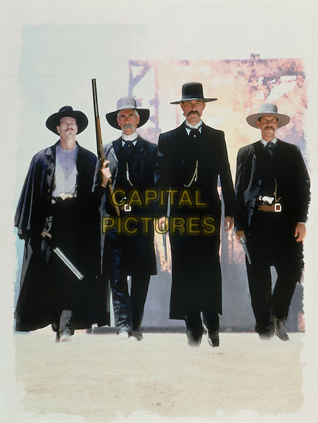 Tombstone (1993) <br /> Val Kilmer, Bill Paxton, Sam Elliott, Kurt Russell <br /> *Filmstill - Editorial Use Only*<br /> CAP/KFS<br /> Image supplied by Capital Pictures