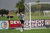 USA goalkeeper Jonathan Kempin. The US U-17 Men's National Team defeated the Development Academy Select Team 5-3 during day two of the US Soccer Development Academy  Spring Showcase in Sarasota, FL, on May 23, 2009.