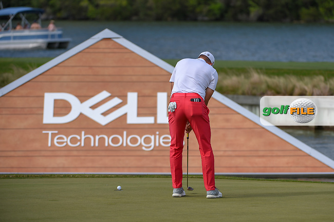 Sergio Garcia (ESP) barely misses his putt on 13 during day 2 of the WGC Dell Match Play, at the Austin Country Club, Austin, Texas, USA. 3/28/2019.<br /> Picture: Golffile | Ken Murray<br /> <br /> <br /> All photo usage must carry mandatory copyright credit (© Golffile | Ken Murray)