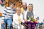 Mary McMahon pictured with her family  l-r: Donagh, Brendan and Anne Marie McMahon.