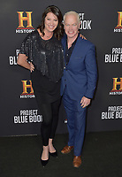 "03 January 2019 - Los Angeles, California - Neal McDonough, Ruve McDonough. ""Project Blue Book"" History Scripted Series Los Angeles Premiere held at Simon House. Photo Credit: AdMedia"