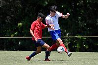 Football - National Age Group Tournament at Petone Memorial Park, Lower Hutt, New Zealand on Friday 13 December 2019. <br /> Photo by Masanori Udagawa. <br /> www.photowellington.photoshelter.com