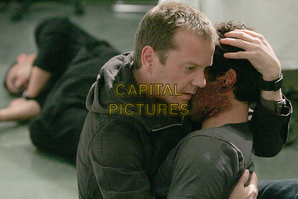 """KIEFER SUTHERLAND & CARLOS BERNARD.in 24.""""Day 5: """"7:00 PM - 8:00 PM"""".*Editorial Use Only*.www.capitalpictures.com.sales@capitalpictures.com.Supplied by Capital Pictures."""