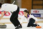 Miyo Ichikawa (Chuden), SEPTEMBER 16, 2013 - Curling : Olympic qualifying Japan Curling Championships Women's Final second Mach between Chuden 7-6 Fortius at Dogin Curling Studium, Sapporo, Hokkaido, Japan. (Photo by Yusuke Nakanishi/AFLO SPORT)