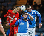 Bilel Mohsni with Chris Higgins and Andy Dowie