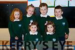 Kilgobnet NS junior infants on Friday front row l-r: Laura and Lily Culhane. Back row: Kelsey O'Mahony, Caoilainn Riordan, Dara Clifford, Oisin Griffin