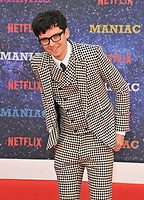 Asa Butterfield at the &quot;Maniac&quot; UK TV premiere, Southbank Centre, Belvedere Road, London, England, UK, on Thursday 13 September 2018.<br /> CAP/CAN<br /> &copy;CAN/Capital Pictures
