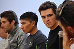 Greg Van Avermaet (BEL) BMC Racing Team at the top riders press conference on the eve of the race of the two seas, 52nd Tirreno-Adriatico by NamedSport running from the 8th to 14th March, Italy. 7th March 2017.<br /> Picture: La Presse/Gian Mattia D'Alberto | Cyclefile<br /> <br /> <br /> All photos usage must carry mandatory copyright credit (&copy; Cyclefile | La Presse)