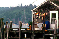Fishing Shack with Buoys  #S14