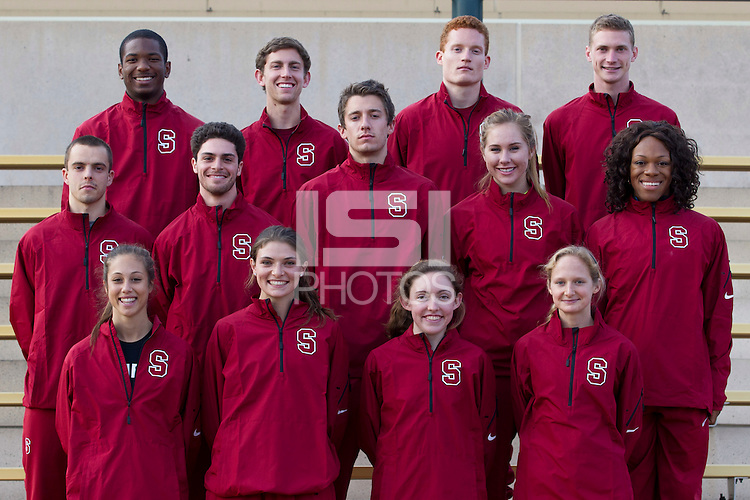 STANFORD, CA--2014 Stanford Track and Field team.