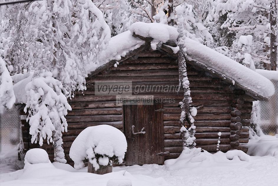Europe/Finlande/Laponie/Kongäss: Levi Huskypark
