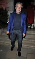 Arnold &quot;I'll Be Back&quot; Schwarzenegger out &amp; about, spotted at the Annabel's restaurant, Annabel's, Berkeley Square, London, England, UK, on Monday 05 November 2018.<br /> CAP/CAN<br /> &copy;CAN/Capital Pictures