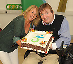 Gretta Murphy  with IWA Service Coordinator Terry OÕBrien at the opening of the Irish Wheelchair Association new Community Centre at The Reeks Gateway, Killarney on Friday.   Picture: macmonagle.com