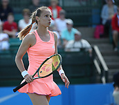 June 15th 2017, Nottingham, England; WTA Aegon Nottingham Open Tennis Tournament day 6;  Magdalena Rybarikova of The Slovak Republic playing Alison Riske of USA