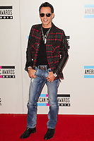 LOS ANGELES, CA - NOVEMBER 24: Marc Anthony arriving at the 2013 American Music Awards held at Nokia Theatre L.A. Live on November 24, 2013 in Los Angeles, California. (Photo by Celebrity Monitor)