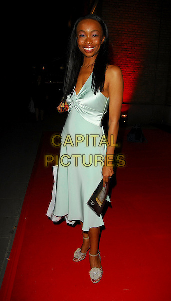 PHINA ORUCHE.OK! Magazine - private 10th anniversary party, Old Billingsgate, London, UK..May 10th, 2006.Ref: CAN.full length blue dress.www.capitalpictures.com.sales@capitalpictures.com.©Capital Pictures