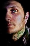 Tattoo artist Beau Brady of Halo Tattoo, Syracuse.