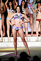 Miss Kagawa, Arika Sakamoto, competes in the swimsuit category during the finals of Miss Universe Japan at Hotel Chinzanso Tokyo on March 1, 2016, Tokyo, Japan. Sari Nakazawa from Shiga captured the crown and will represent Japan in the next Miss Universe international competition. (Photo by Rodrigo Reyes Marin/AFLO)