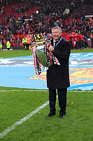 Pictured: Manchester United manager Sir Alex Ferguson.<br />