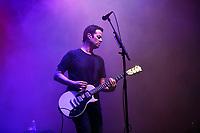 LONDON, ENGLAND - SEPTEMBER 8: Tom Linton of 'Jimmy Eat World' performing at Gunnersville, Gunnersbury Park on September 8, 2019 in London, England.<br /> CAP/MAR<br /> ©MAR/Capital Pictures