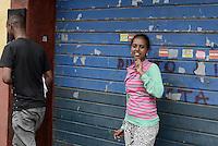 Roma, 12 Giugno 2015<br /> Vi Tiburtina.<br /> Centinaia di migrant hanno trovato rifugio nel centro di accoglienza Baobab di Via Cupa e nelle vie limitrofe.