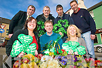 PARADE: Unveiling details of the upcoming St Patrick's Day Parade in Killorglin, l-r: Edel Murphy, Stephen O'Grady, Geraldine O'Sullivan. Back l-r: Cllr Michael Cahill, Mike O'Shea, John McGrath, Erwin Kingston.