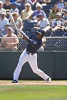 July 11, 2010: Everett AquaSox's Ryan Royster (24) at-bat during a Northwest League game against the Spokane Indians at Everett Memorial Stadium in Everett, Washington.