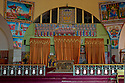 25/01/12. Axum, Ethiopia. The interior of Maryam Tsion church (St Mary of Zion). Photo credit: Jane Hobson