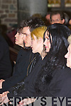 Jill Hennessy, wife of the late Christy Hennessy with their children Tim, Amber and Hermoine at the funeral on Thursday December 27th.The Removal Mass of the late Christy Hennessy from Saint Johns Tralee on Thursday 27th December,    Copyright Kerry's Eye 2008