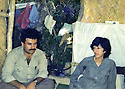 Iraq 1985 .In august,in Bergalou, Pakchan Hafid and Diler Ibrahim  .Irak 1985 .En aout, a Bergalou, Pakchan Hafid et Diler Ibrahim