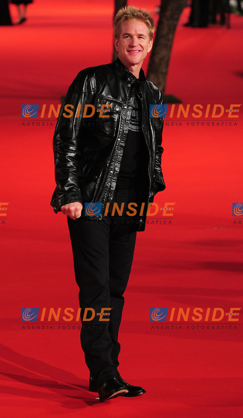 Matthew Modine during the red carpet at the opening day of the third edition of Festa Internazionaledel Cinema di Roma, Auditorium Parco della Musica, October 22, 2008. <br /> Photo Luca Cavallari Insidefoto