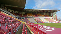 A general view of Valley Parade, home of Bradford City FC<br /> <br /> Photographer David Shipman/CameraSport<br /> <br /> The EFL Sky Bet League One - Bradford City v Fleetwood Town - Saturday 9th February 2019 - Valley Parade - Bradford<br /> <br /> World Copyright &copy; 2019 CameraSport. All rights reserved. 43 Linden Ave. Countesthorpe. Leicester. England. LE8 5PG - Tel: +44 (0) 116 277 4147 - admin@camerasport.com - www.camerasport.com