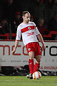 David Gray of Stevenage. Stevenage v Crawley Town - npower League 1 -  Lamex Stadium, Stevenage - 15th December, 2012. © Kevin Coleman 2012..